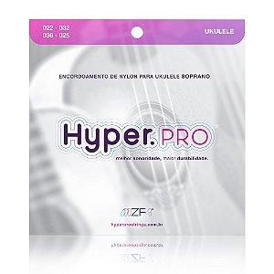 Encordoamento Hyperpro Ukulele Soprano Nylon