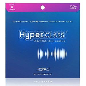 Encordoamento Hyperpro Violão nylon Tensão Média Hyper Class