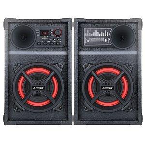 Caixa Amplificada Amvox Aca 801 Poderoso Bluetooth 800w
