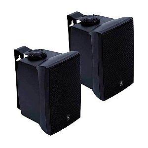 Par caixas Jbl C521p 5pol 40w Rms som ambiente profissional