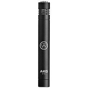 Microfone Akg P170 Condensador Cardióide Preto instrumentos