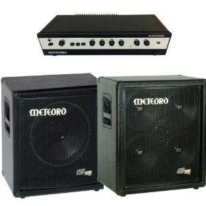 Kit Cabeçote Meteoro 400mb + caixas 410bs + 115bs
