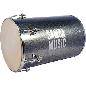 Rebolo 12 pol x 50cm titanium Sparkle madeira Samba Music