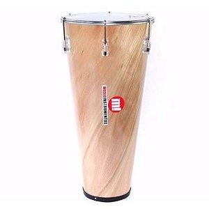 Timba Madeira 13 pol x 70cm Natural Verniz 213 Music Phx