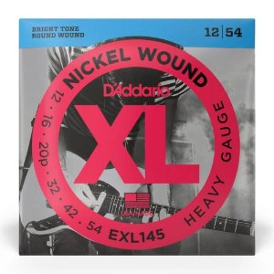 Encordoamento Daddario Guitarra 012 EXL145 Nickel Wound