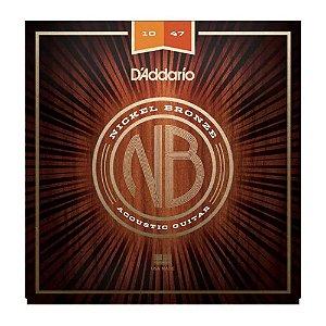 Encordoamento Daddario Violão Aço 010 NB nickel bronze