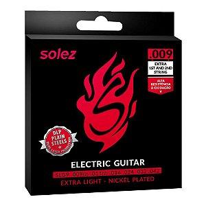 Encordoamento Guitarra 009 Solez DLP SLG9
