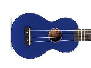 Ukulele Soprano Mahalo Mr1 Azul cordas Aquila e capa MR1BU