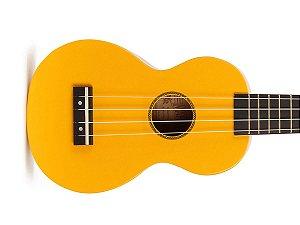 Ukulele Soprano Mahalo Mr1 Amarelo cordas Aquila e capa MR1YW