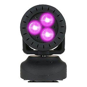 Projetor De Luz Pls 3 Leds 3w 4 Em 1 Planet Move 009311