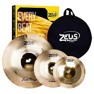 Kit Pratos Zeus Evolution Pro B10 Set C 14' 16' 20' + bag