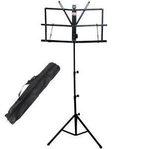 Estante de Partitura leitura Turbo Elite MS1BK ms 1bk Preto
