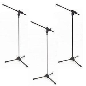 Suporte Pedestal de Microfone Ibox Smlight - 3 unidades