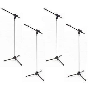 Suporte Pedestal de Microfone Ibox Smlight - 4 unidades