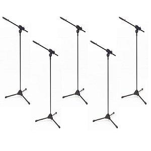 Suporte Pedestal de Microfone Ibox Smlight - 5 unidades