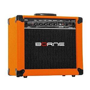 Amplificador Cubo Borne cb60 Impact Bass 20w Laranja