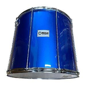 Surdo Phx Madeira 22 pol. x 50 cm Pvc Azul 509R AZ