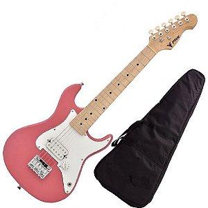 Guitarra Eletrica Phx Infantil Criança Jr Ist Pink Rosa