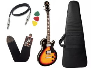 Guitarra Les Paul PHX LP5 Cor Sunburst + Capa Cabo
