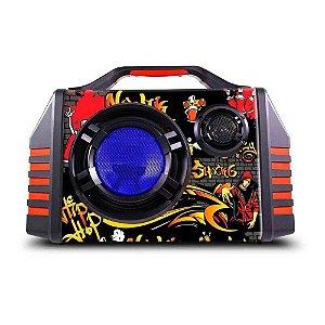 Caixa de Som Portátil Novik Neo Shock 6 II bluetooth bateria