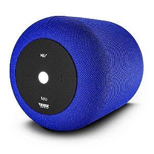 Caixa De Som Bluetooth Novik Start Xl Azul Bateria recarrega
