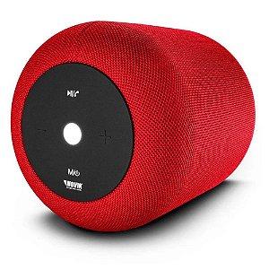 Caixa De Som Bluetooth Novik Start Xl Vermelha Bateria