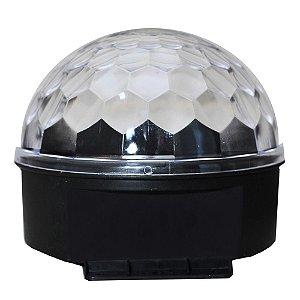 Iluminação Spectrum Sp14/3 Leds Meia Bola 1 watt sem dmx