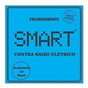 Encordoamento Contra baixo 4 cordas 045 Smart Niquel
