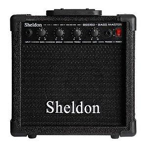 Amplificador Sheldon Bss150 Contra Baixo 15w 110/220 Preto