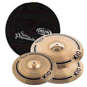 Kit Set Prato Orion Personalidade X10 Spx90 14 16 20 + Bag