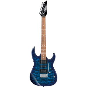 Guitarra Ibanez Gio Grx70qa Tbb Azul regulada