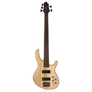 Baixo Cort Action V Dlx Ash 5 cordas Mark Bass regulado