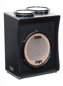 Tajon Fsa TAJ11 Bumbo Caixa Tom Cajon bateria cor preto