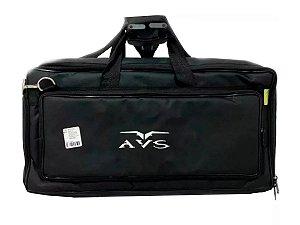 Capa Bag Luxo Pedaleira Boss Vox Line 6 Zoom Korg 24x60x09cm