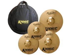 Kit set Pratos Krest Fusion 14 16 20 10 Splash B8 Bag luxo
