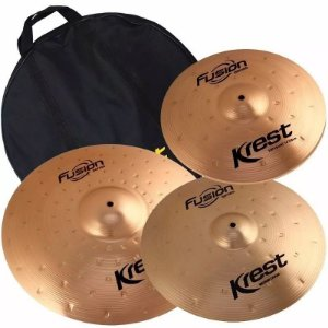 Kit set Pratos  Krest Fusion 14 16 20 B8 C/ Bag - Fset2