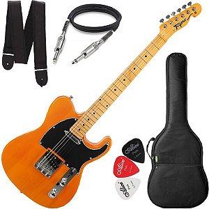 Guitarra Tagima Telecaster Tw55 Cor Butterscotch Capa Cabo