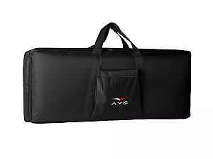Capa Bag Teclado Luxo 5/8 Acolchoado Avs Casio Roland Yamaha