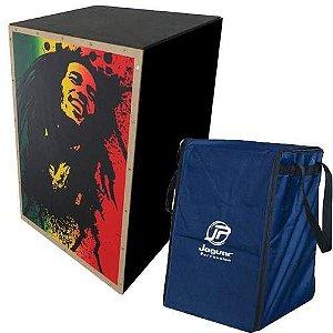 Cajon Elétrico Jaguar Bob Marley CJ1000 Com Capa Bag