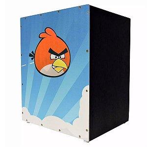 Cajon criança infantil Jaguar Angry Birds