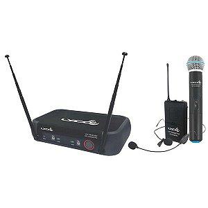 Microfone Lapela Sem Fio Lyco Vh202proMHL Headset
