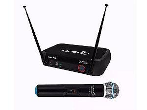 Microfone Sem Fio De Mão Vhf Vh102 Prom profissional  - Lyco