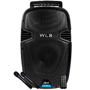 Caixa De Som Ativa Wls JB12 AF 12 Titanio USB Bluetooth