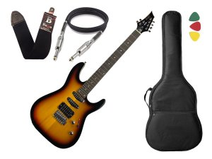 Guitarra Tagima Memphis Mg230 Mg 230 Sunburst Capa Cabo