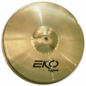Prato Hi Hat Chimbal Eko 13 Krest ECO13HH Brass