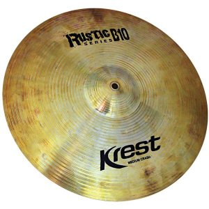 Prato Bateria Ataque Medium Crash 18 Rustic B10 Krest Ru18mc