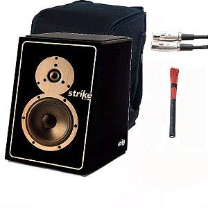Cajon Fsa Elétrico sound box Sk5011 Vassourinha Capa Cabo