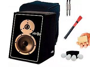 Kit Cajon Fsa Elétrico Sk5011 Sound Box Vassourinha Cabo