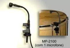 Microfone Percussão Bongo Bumbo Tumbadora Mp2100 Black Bug