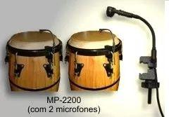 Microfone Percussão Bongo Bumbo Tumbadora Mp2200 Black Bug